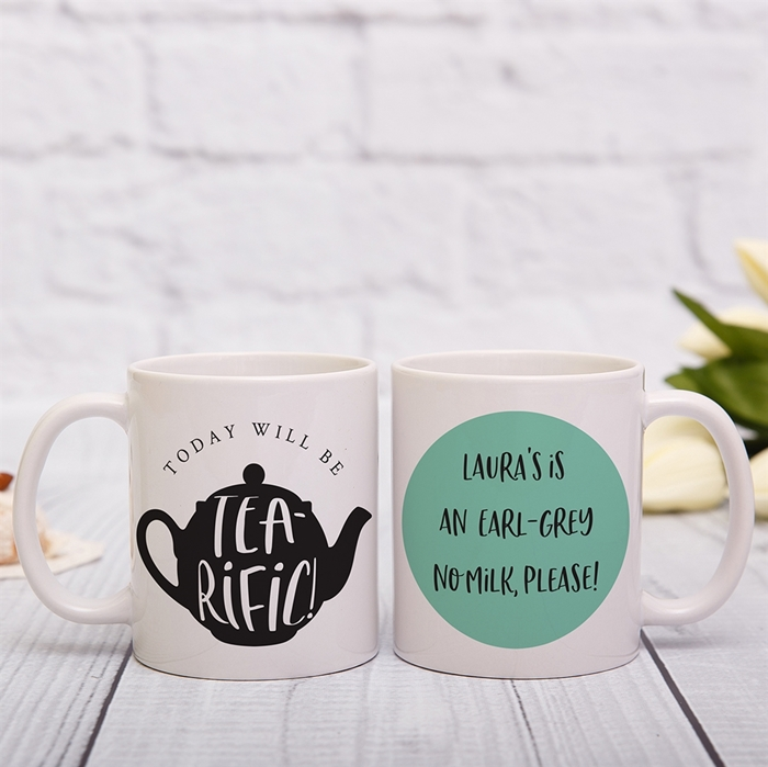 Picture of Tea-rific personalised mug