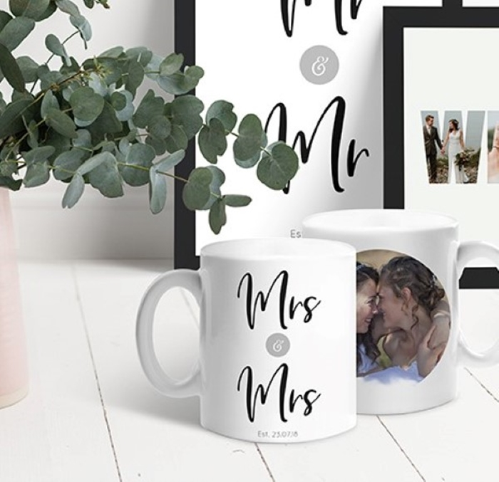 Picture for category Wedding & Anniversary personalised mugs