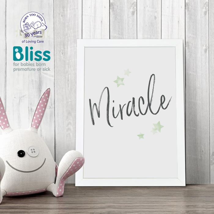 Picture of Miracle personalised poster
