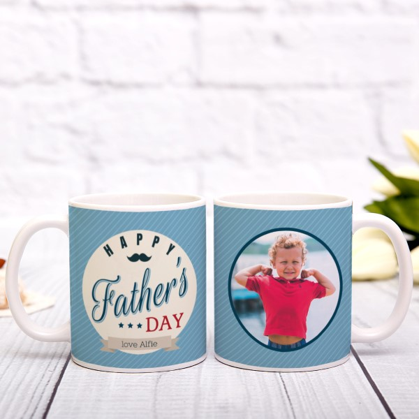 Picture of Happy Father's Day personalised mug
