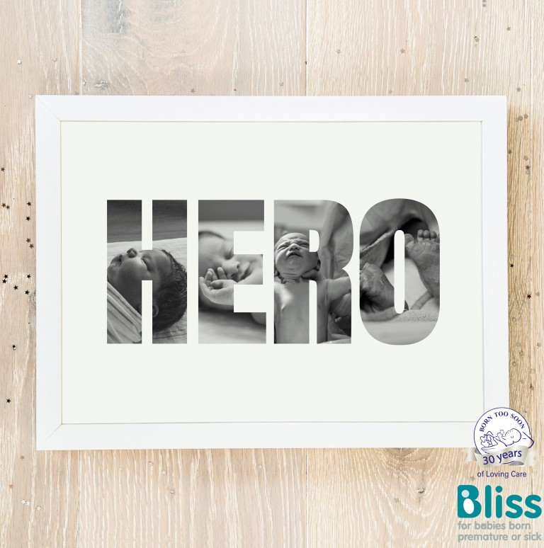 Picture of Hero Photo personalised poster