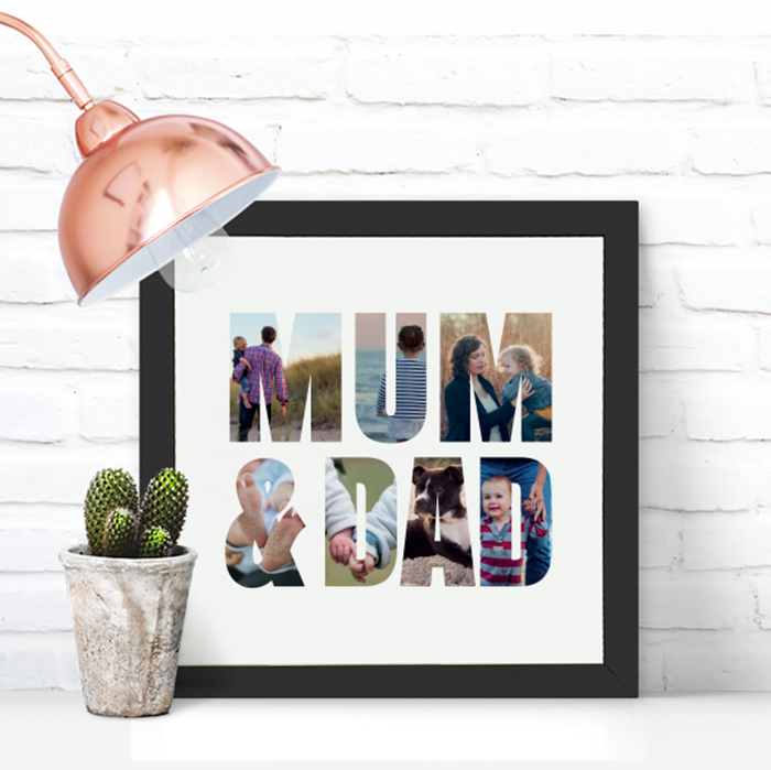 Picture of Square Mum & Dad personalised poster