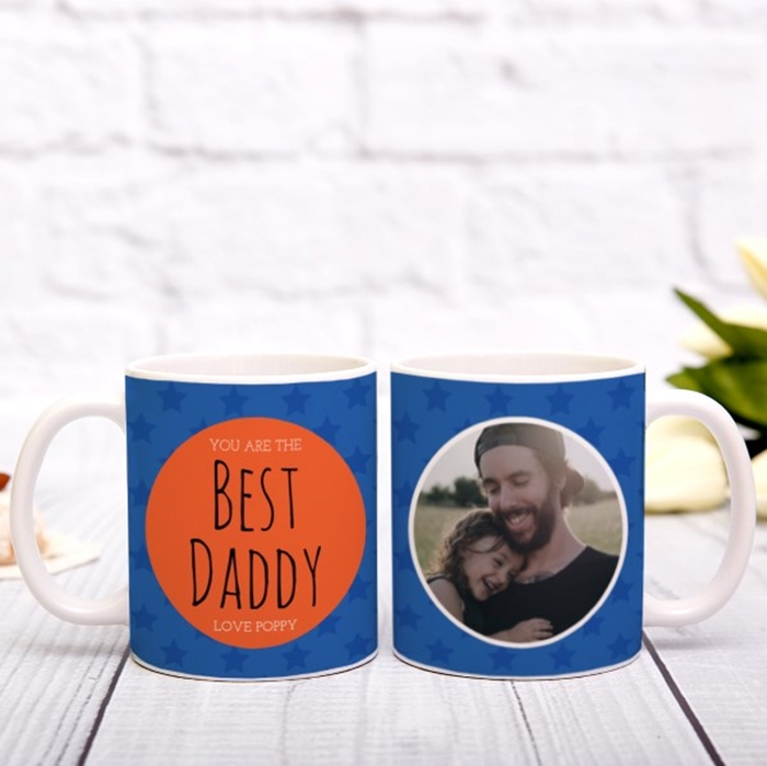 Picture of Best Daddy personalised mug
