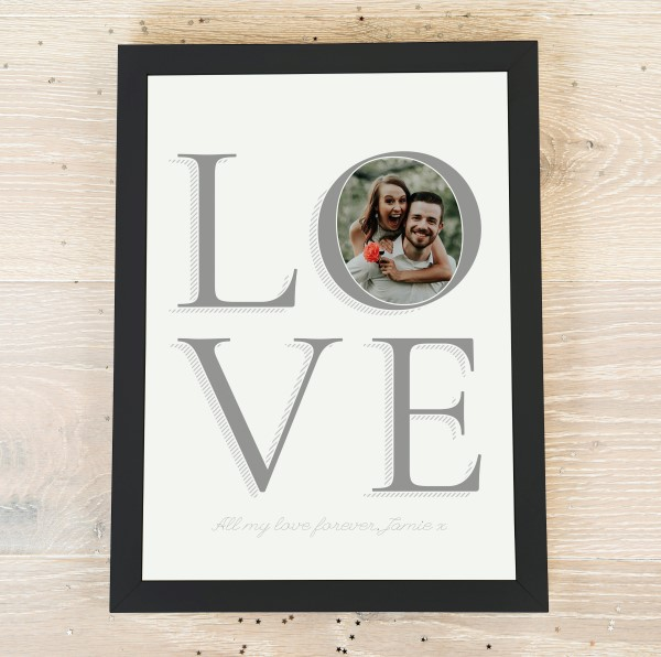 Picture of A4 Love personalised poster
