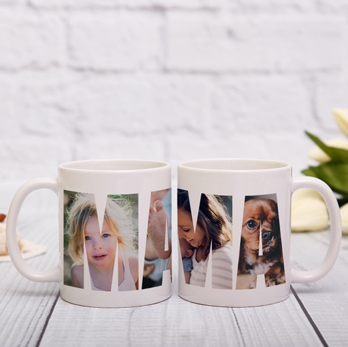 Picture of Mama Photo Personalised Mug