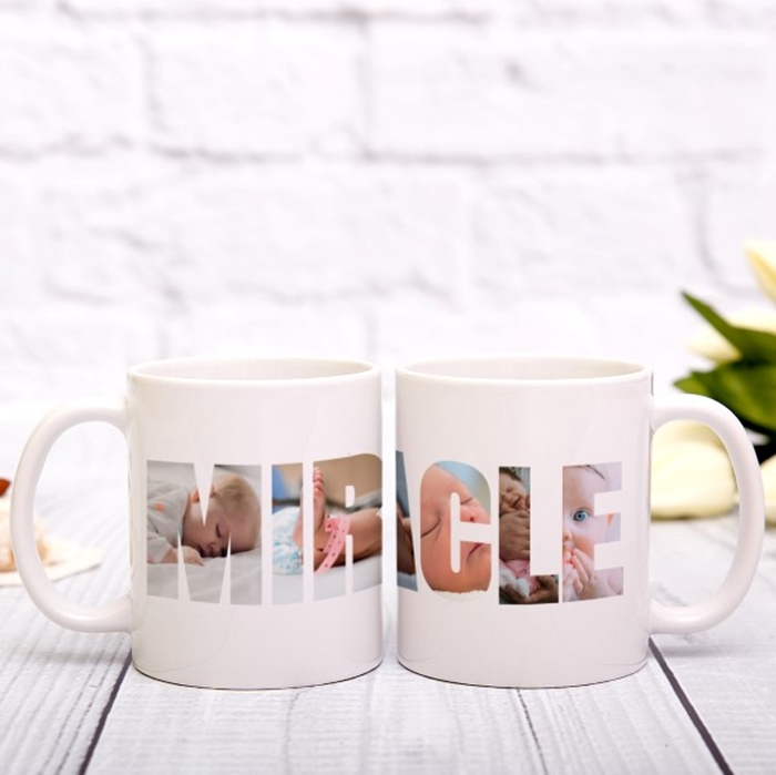 Picture of Miracle Photo Personalised Mug