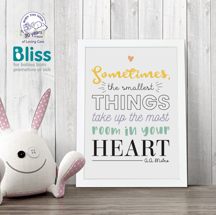 Picture of The Smallest Things personalised poster