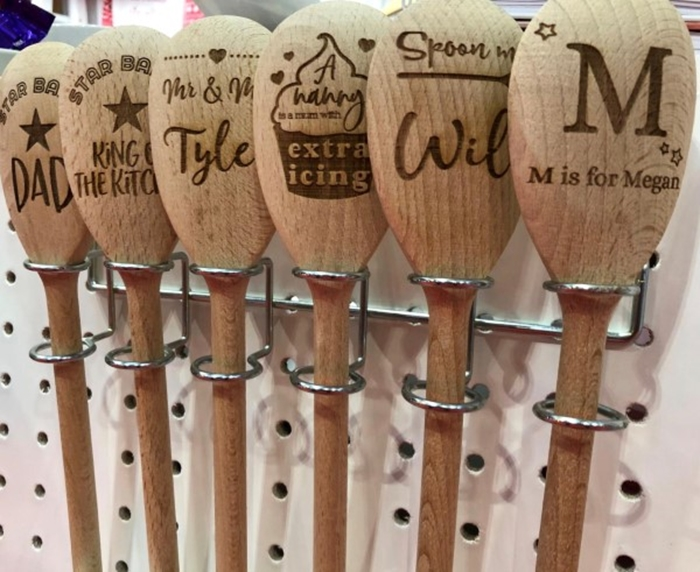 Picture of Spoon me Name Personalised wooden spoons