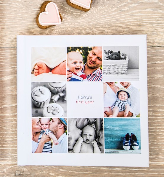 Picture of Keepsake small square photo book