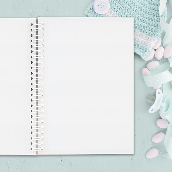 Picture of A5 NNU thoughts hardcover spiral notebook
