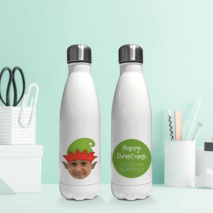 Picture of Elf yourself insulated water bottle
