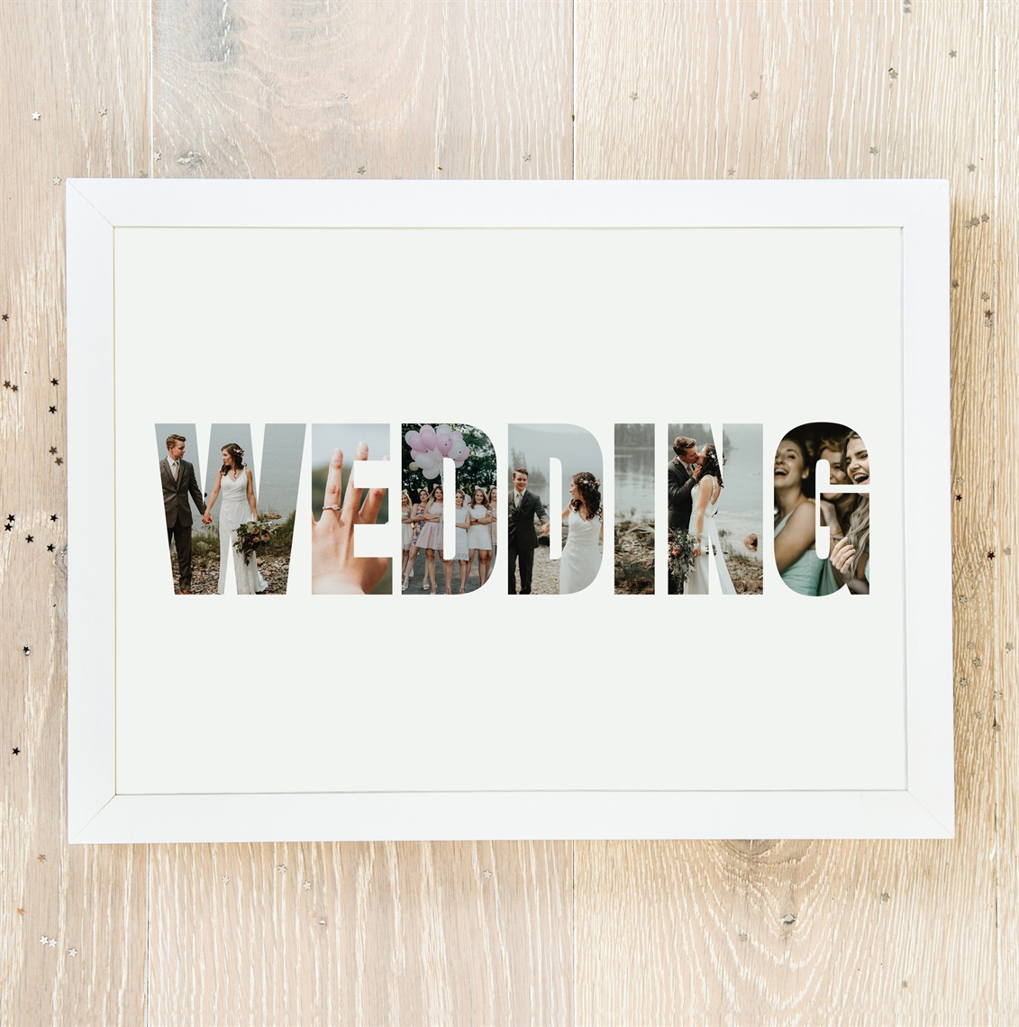 Picture of Wedding Photo personalised poster