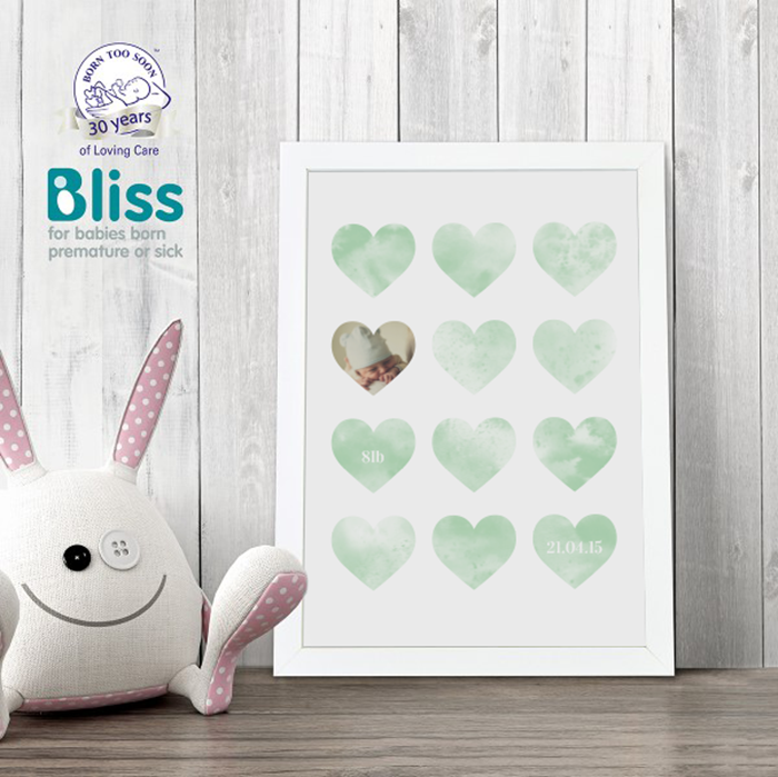 Picture of A4 Lots of love personalised poster