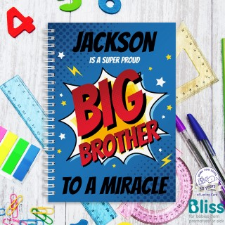 Picture of A5 Super Big Brother hardcover spiral notebook
