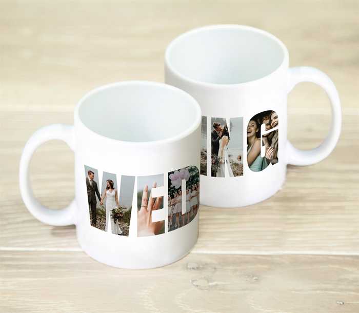 Picture of Wedding Photo Personalised Mug