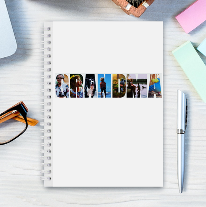 Picture of A5 Grandma hardcover spiral notebook