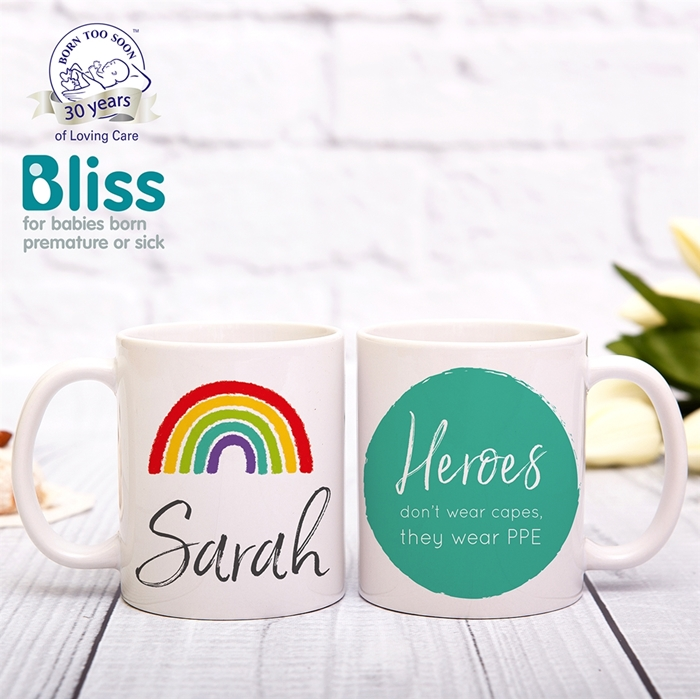 Picture of Rainbow personalised mug