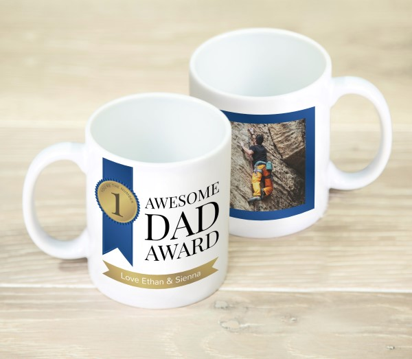 Picture of Awesome Dad personalised mug
