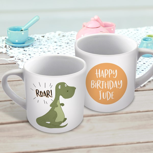 Picture of Dino child's personalised mug