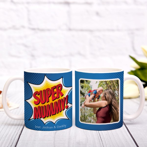 Picture of Super Mummy personalised mug