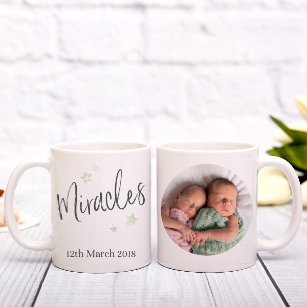 Picture of Miracles Script personalised mug
