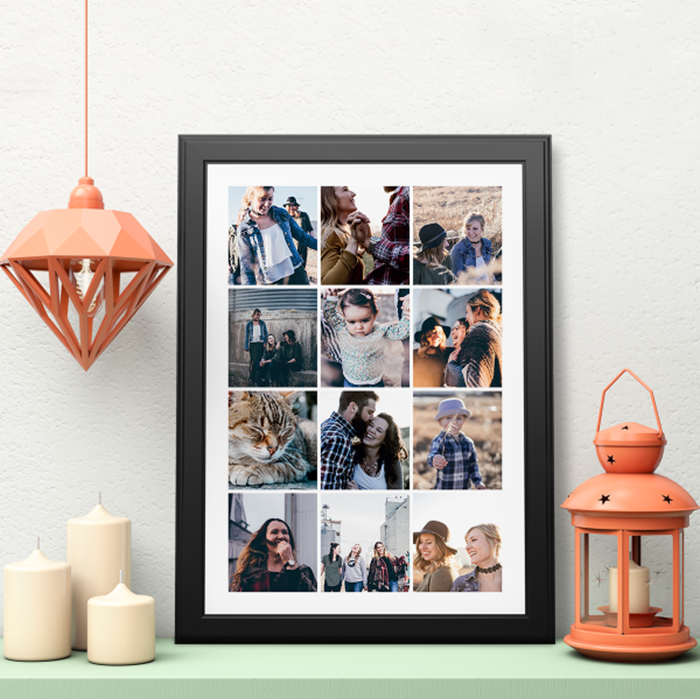 Picture of A3 Instagram-style photo personalised poster