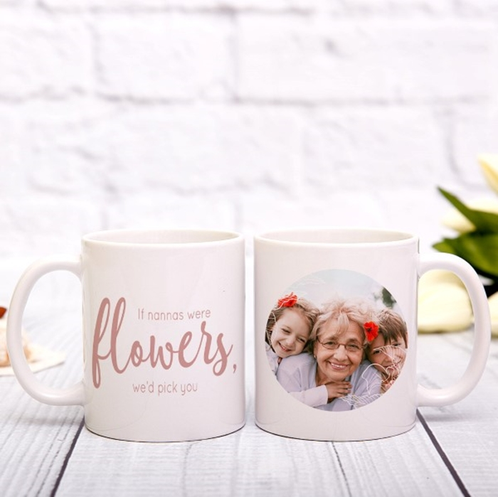 Picture of If you were a flower photo personalised mug