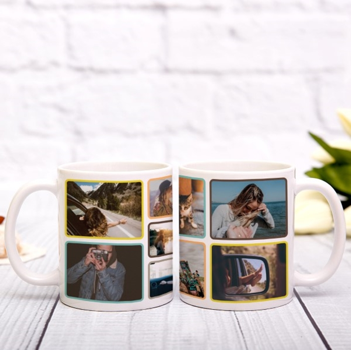 Picture of Photo collage personalised mug