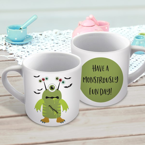 Picture of Jack's Monster Mash winning design child's personalised mug